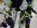 Aranjament cu trandafir curgator