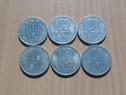 Lot 6 monede 100 lei 1994