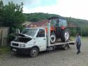 Tractari auto transport trailer