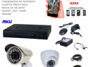 Sistem video aku 2camere interior/exterior 1200tvlgigant/dvr