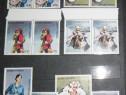 """3 serii timbre """"Oameni în slujba vieții"""" - 1989"""