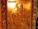 Avram Iancu- metaloplastie mare in arama semnata Thury 1996.