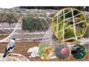 Plasă de protecție împotriva păsărilor 4 * 50 metri
