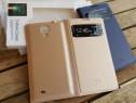 Husa Flip S-view activa Samsung S4 i9505 si S4 Mini Noua