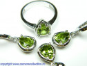 Set bijuterii argint rodiat zultanit Model ST119101