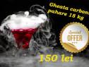 Gheata Carbonica Pahare pentru Evenimente (fum greu) / Sabla