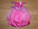 Costum carnaval serbare barbie cu luminite de 2-3 ani