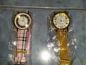 Ceasuri noi auriu si colorat.