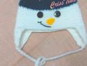 """Caciula crosetata """"Om de zăpadă"""""""
