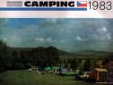 Camping 1983 Cehoslovacia, prospect turistic