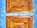 Set 2 Aplice vechi Muschetari Franta cu scene epoca st. F.B.