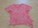 Bluza roz cu picouri marimea 42