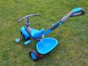 Tricicleta Smartrike cu maner cu directie si cos jucarii