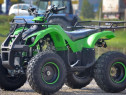 ATV 125cc KXD Hummer M8 NOU, Roti de 8, casca Bonus #VERDE