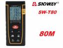 Telemetru / ruleta laser 80M (precizie+-2mm) Sndway seria T