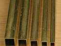 Teava alama 30x30x2 patrata CuZn37 CW508L cupru inox alumini