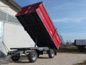 Remorca pentru transport baloți rotunzi sau patrați