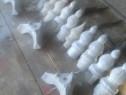 Obiecte din aluminiu pt montat in capul tevilor de