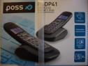 Poss, model psdp41duo, franta, telefon fix, 2 receptoare,