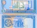 Lot 5 bancnote TURKMENISTAN 1993-2012 - UNC