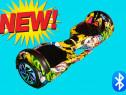 Hoverboard grand wheel 2x500w nou bluetooth+garantie