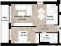 Apartament 2 camere in Gheogheni, bloc nou