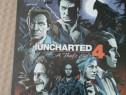 Joc ps4 ,colectie uncharted 4 a thief s end , steelbook