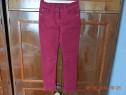 Pantaloni bordeaux skinny
