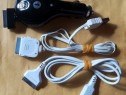 Incarcator auto cu cablu retractabil - iPhone, iPad, iPod