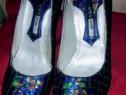 Pantofi unicat damă piele de sarpe mihai albu