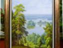 Tablou pictat manual pe panza in ulei Peisaj Natura A-105
