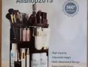 Organizator pentru cosmetice cu rotire 360 grade si rafturi