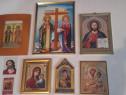 6 Icoane-Mantuitorul Iisus Hristos mare,veche anii'50-colect