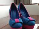 Pantofi Angel Blue