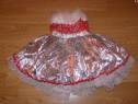 Costum carnaval serbare rochie dans 3-4 ani