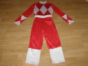 Costum carnaval serbare power rangers ninja 6-7 ani