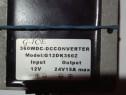 Convertor DC-DC, 12V - 24V, 15a 360vdc