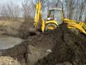 Inchiriez buldoexcavator și miniexcavator