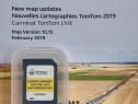 Harti gps renault card original tomtom carminat live / rlink