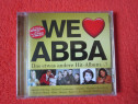We Love ABBA-cd de colectie(made Sony Germany 2013)-cadou