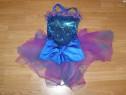 Costum carnaval serbare rochie dans balet 4-5-6 ani