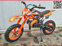 "Moto cross 50cc livrare gratis dirt bike 701a j10"" orange"