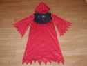Costum carnaval serbare schelet vrajitor 7-8 ani