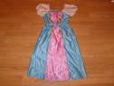 Costum carnaval serbare barbie pentru copii de 3-4 ani