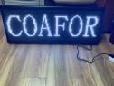 Reclama firma led Coafor/ Frizerie , LogoPrint