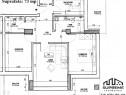 Apartament 3 camere, 73 mp utili, strada la Doamna Stanca