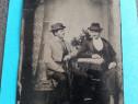 Ferotipie ,fotografie pe suport metalic ,foarte veche