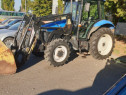Tractor New Holland TD 70D cu incarcator, an 2009 70 CP, AC