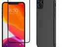 Iphone 11 / 11 PRO / 11 MAX Husa Silicon + Folie Sticla