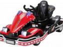 Kart electrica pentru copii GO! KART echipata STANDARD #Rosu